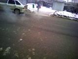 Пожар в Ставрополе 26.01.14